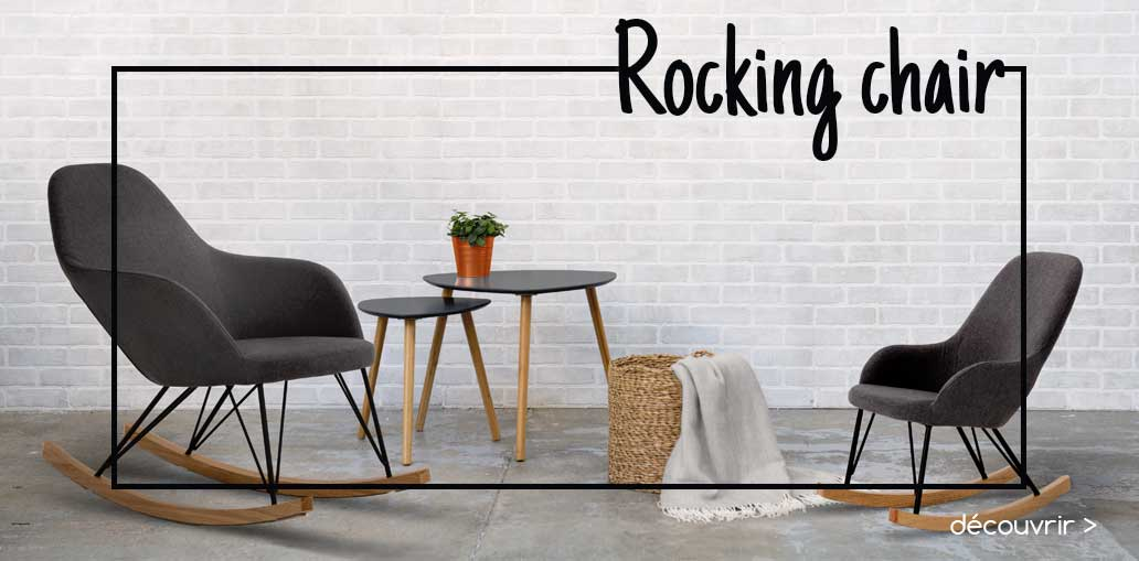 Rocking chair Adultes et Enfants