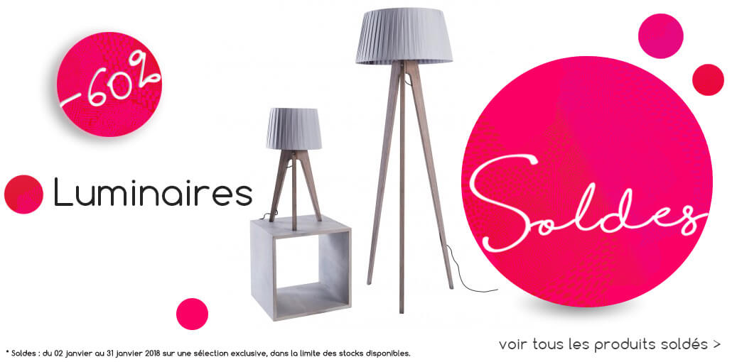 Soldes luminaires BE