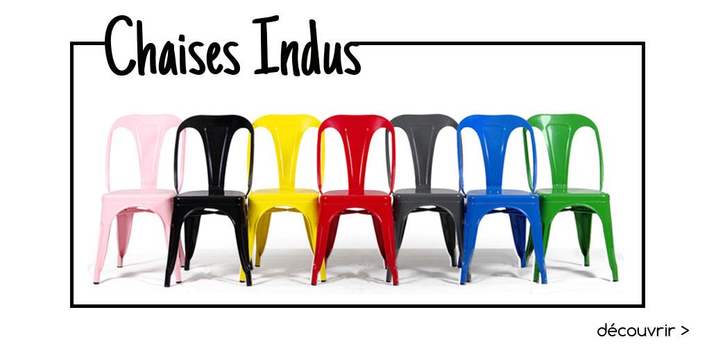Chaises indus