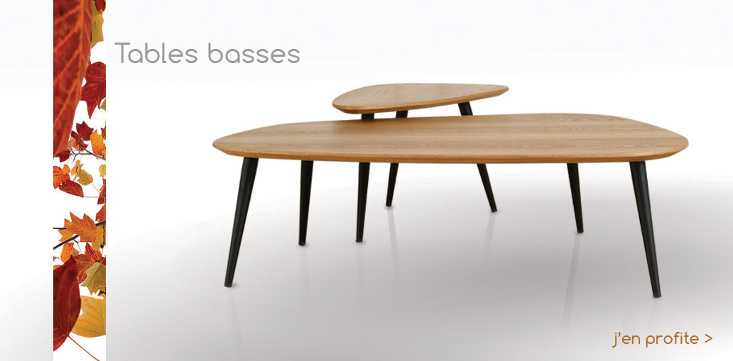 Tables basses automne 2016
