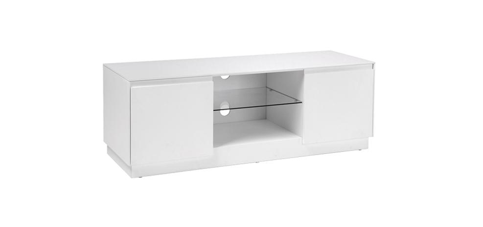 Meuble tv blanc gris pas cher - Meuble tv petit prix ...