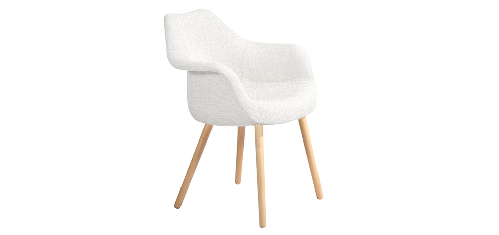 Promotion 36 chaise anssen blanche soldes ancien for Chaise bas prix