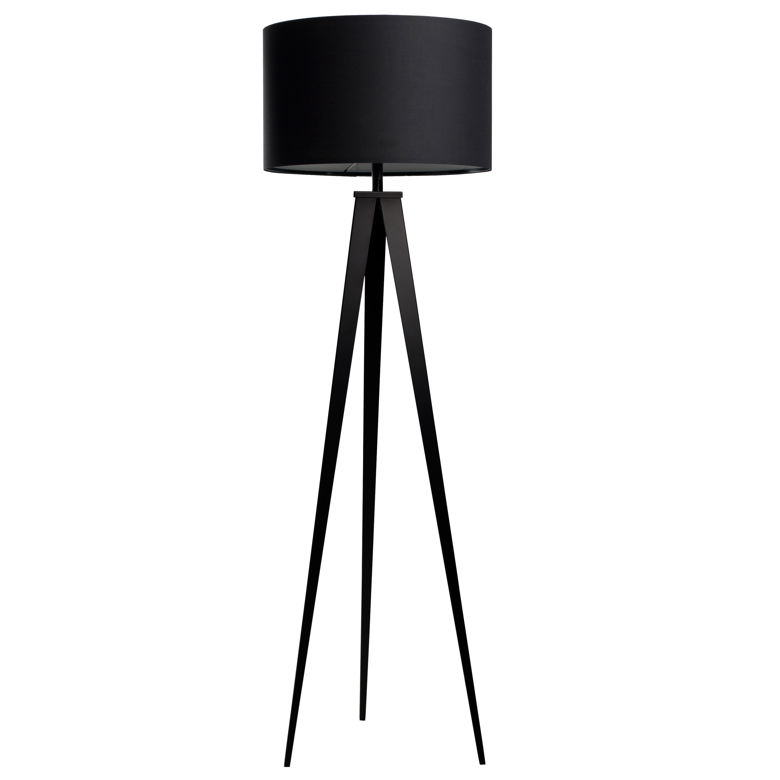 lampadaire tr pied noir commandez les lampadaires. Black Bedroom Furniture Sets. Home Design Ideas