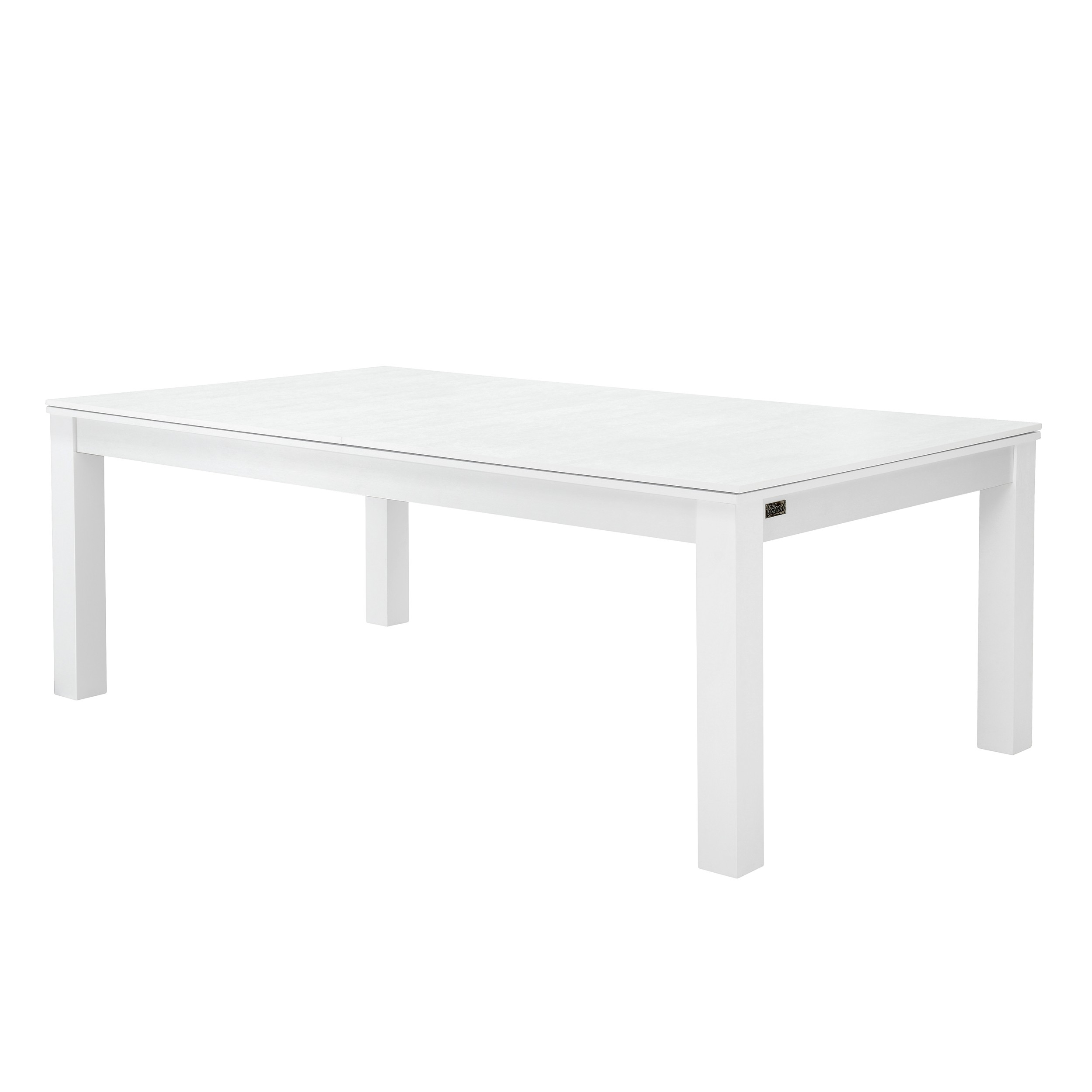 Billard-table convertible blanc tapis gris : commandez les billard ...