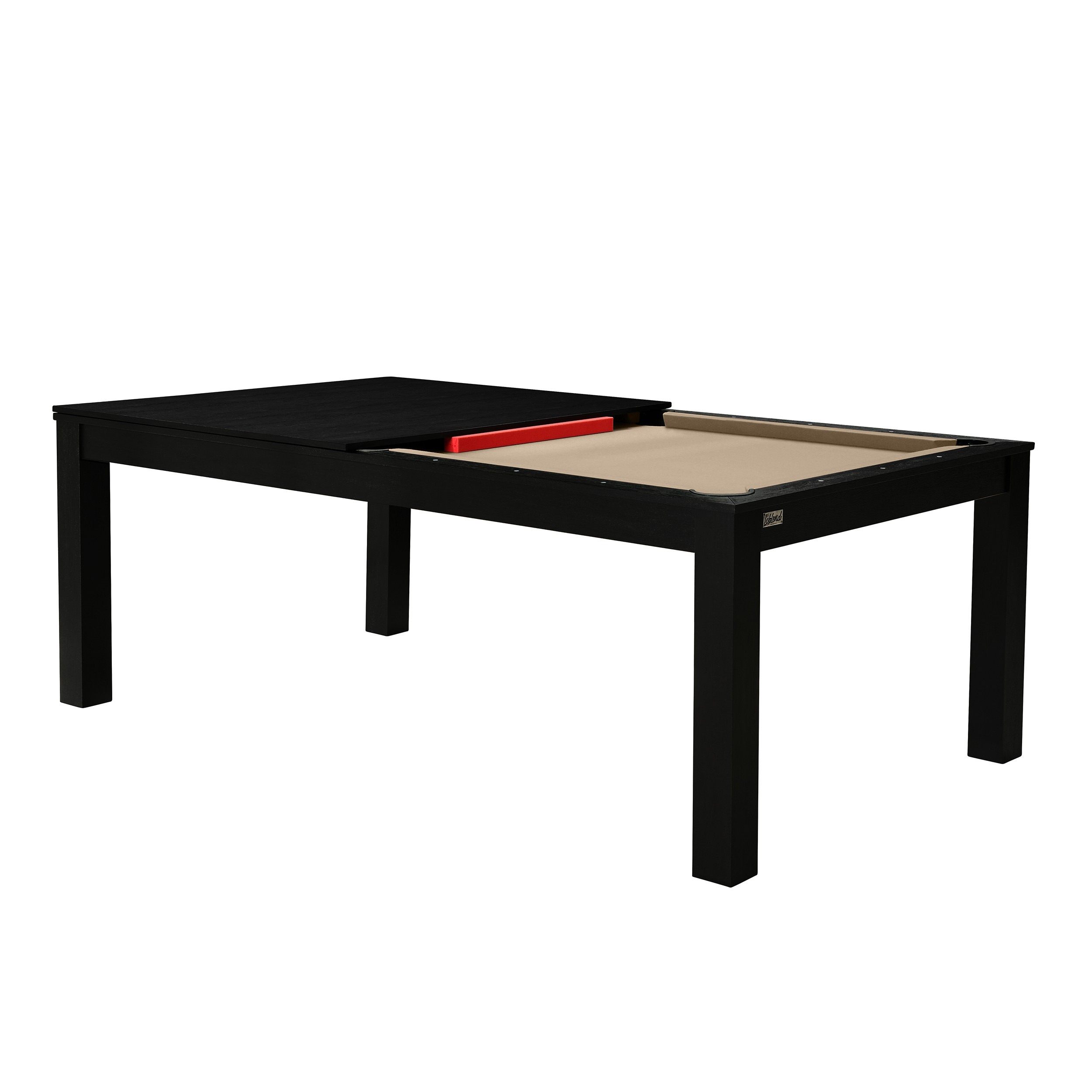 billard table convertible noir tapis beige achetez les. Black Bedroom Furniture Sets. Home Design Ideas