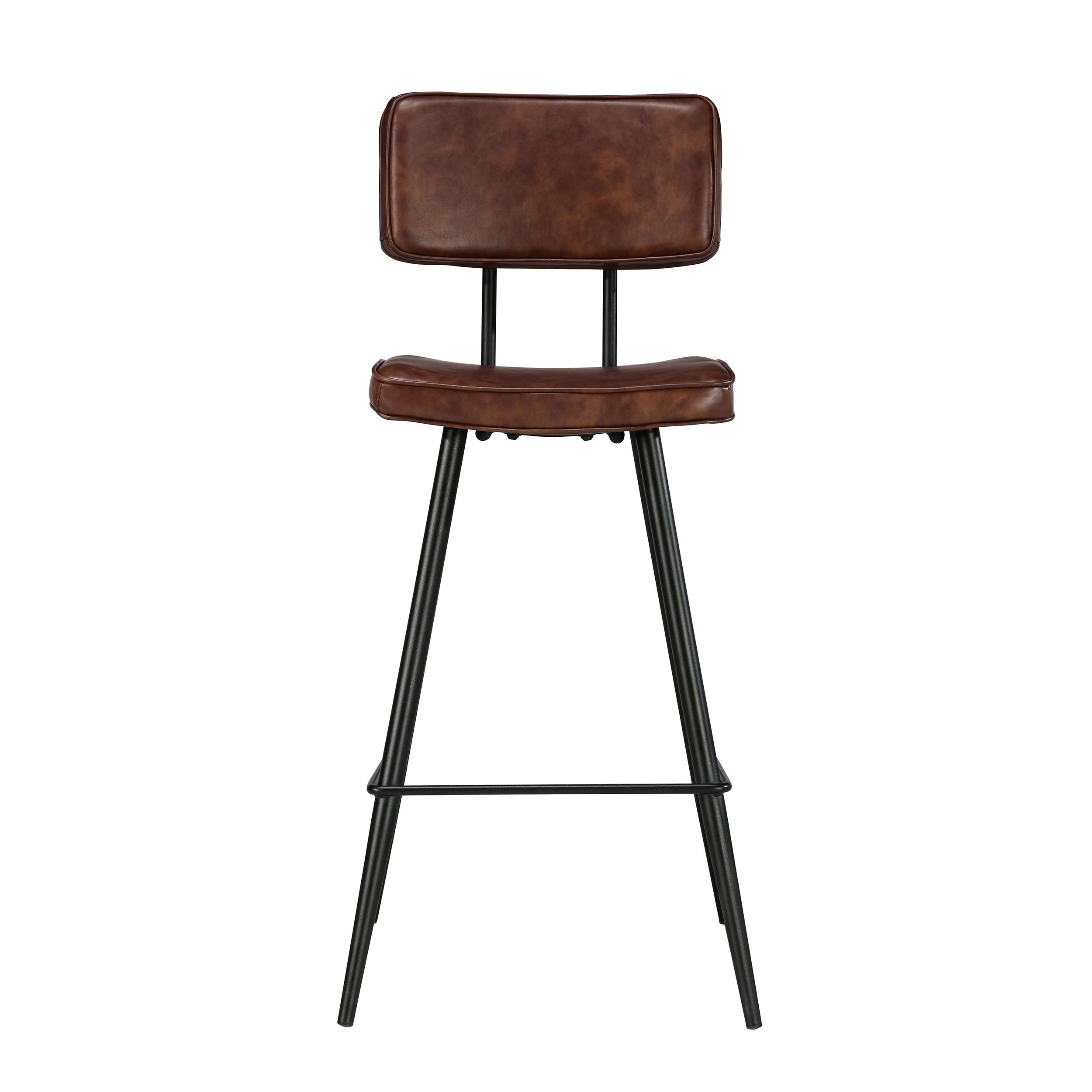 chaise de bar texas marron lot de2 d couvrez les chaises de bar texas marron lot de 2 rdv d co. Black Bedroom Furniture Sets. Home Design Ideas