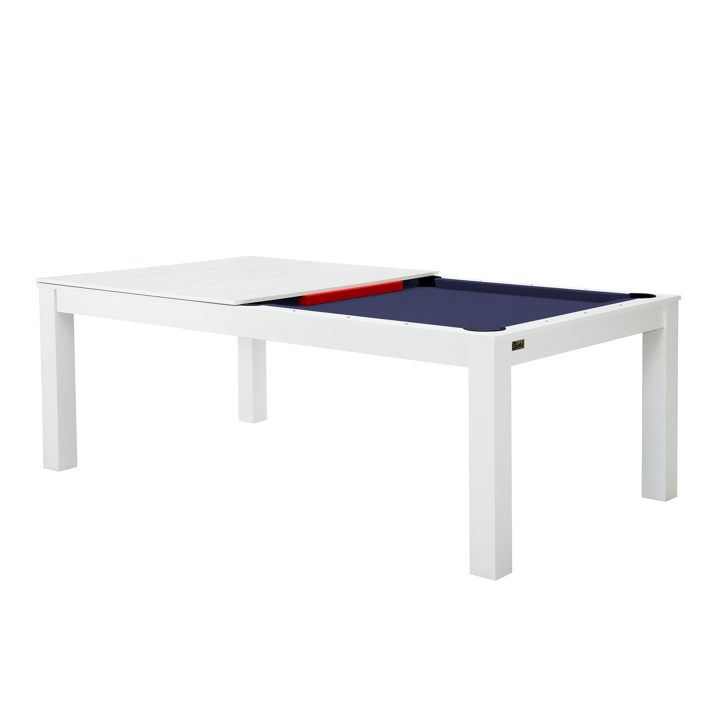 billard table convertible blanc tapis bleu testez nos billards tables convertibles blancs. Black Bedroom Furniture Sets. Home Design Ideas