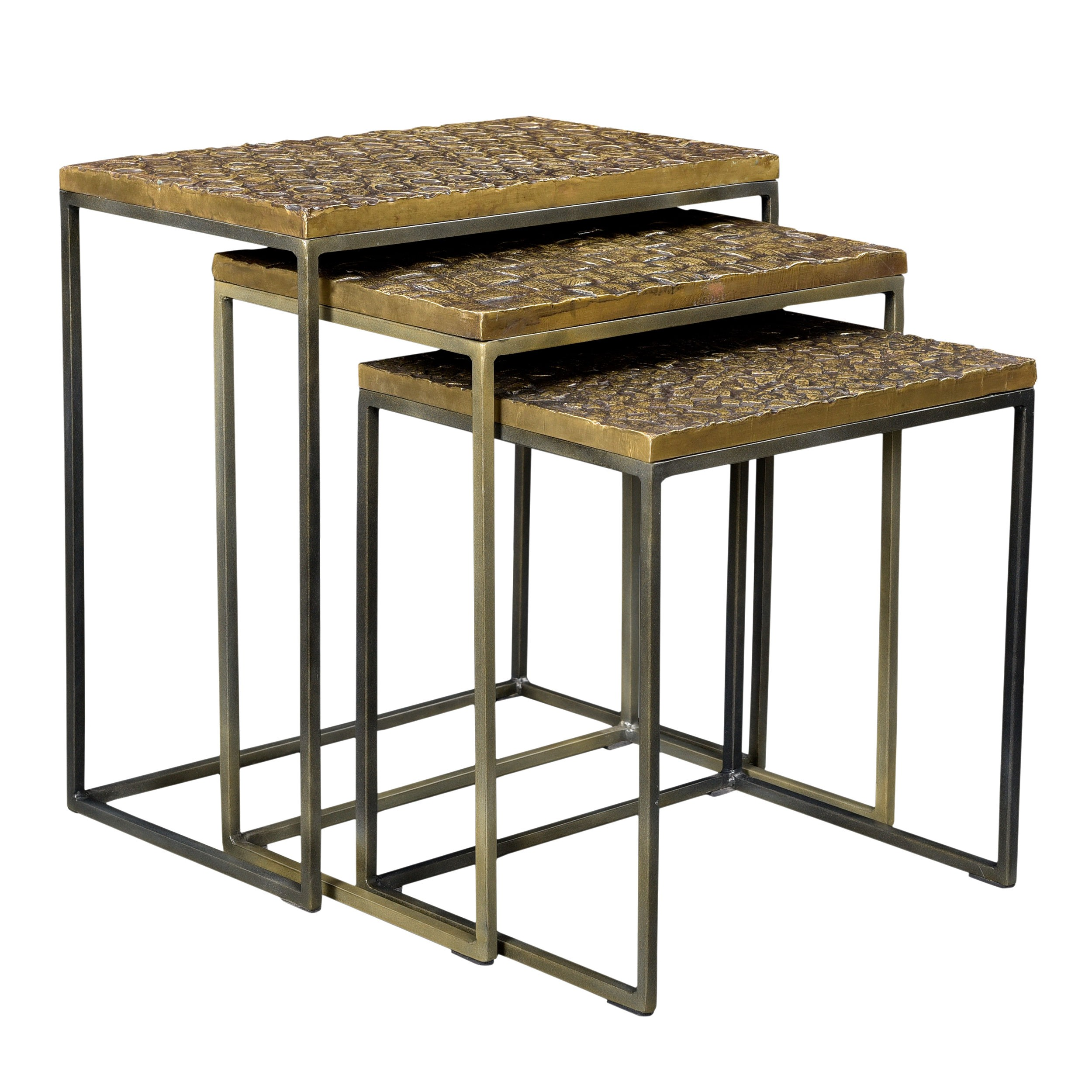 tables basses gigognes carr es akshaya lot de 3 commandez nos tables basses gigognes carr es. Black Bedroom Furniture Sets. Home Design Ideas