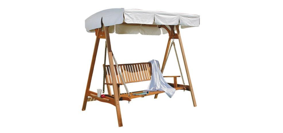 balancelle en bois : commandez nos balancelles en bois design-rdvdéco