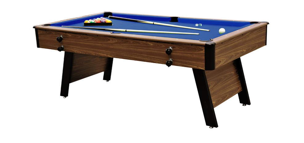 billard pliable weston 6 7ft bois clair tapis bleu. Black Bedroom Furniture Sets. Home Design Ideas