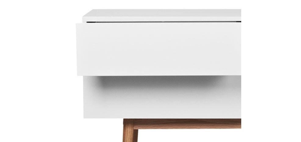 Buffet malm 2 tiroirs 1 porte zuiver commandez nos buffets nordiques petit prix rendez - Prix d un congelateur tiroir ...