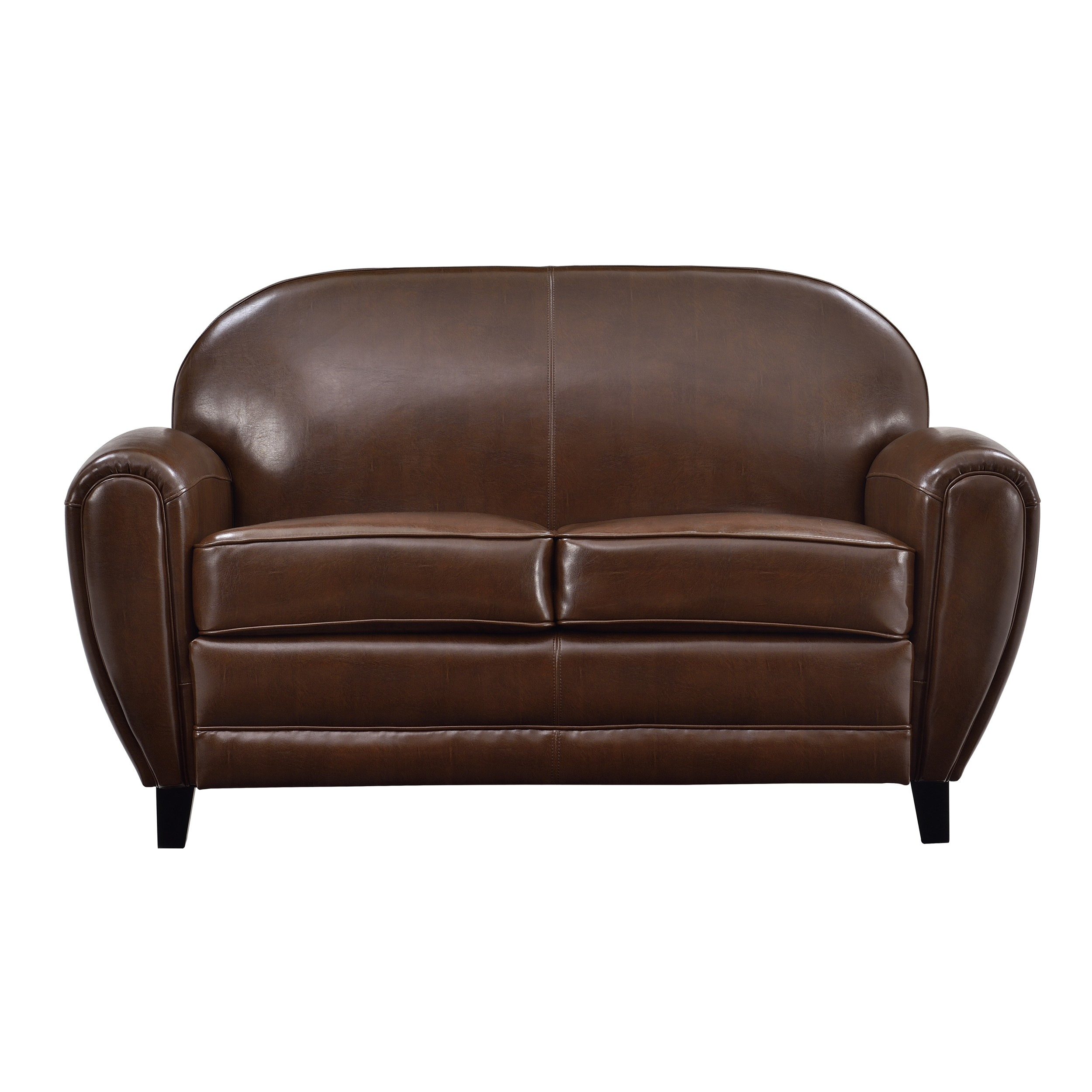 Deco canape marron trendy deco canape marron salon avec for Achat canape cuir