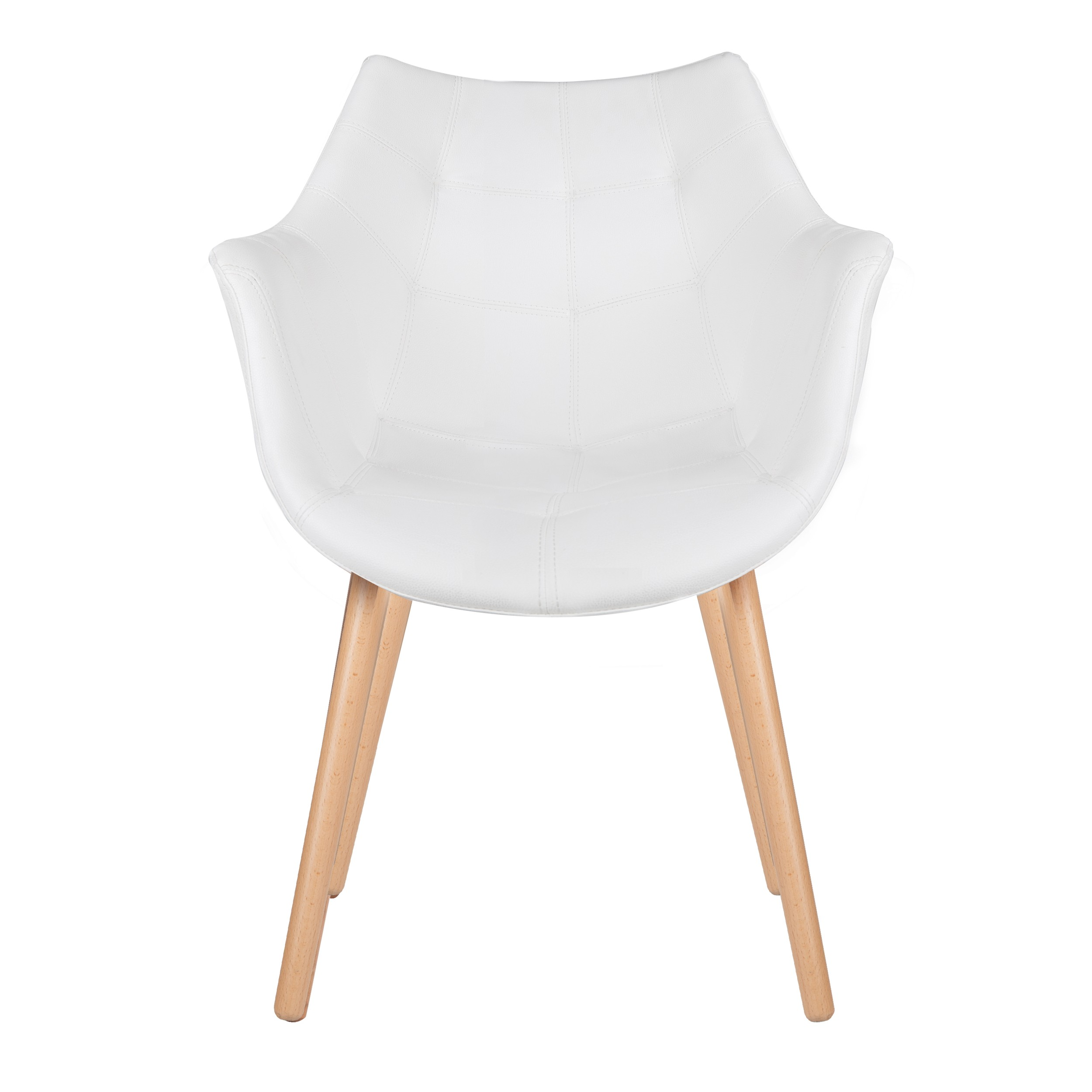 Chaise blanche et bois awesome chaises blanc et bois for Chaise bois et blanc