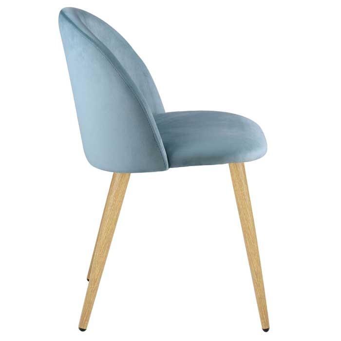 chaise cozy en velours vert lot de 2 achetez les chaises cozy en velours vert lot de 2 rdv. Black Bedroom Furniture Sets. Home Design Ideas