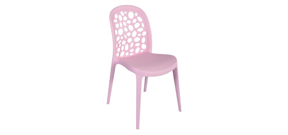 Chaise sala rose achetez nos chaises sala roses design for Chaise rose