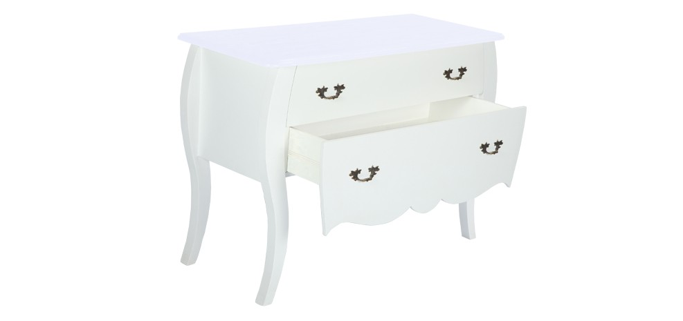 commode blanche achetez nos commodes blanches design rdvdeco. Black Bedroom Furniture Sets. Home Design Ideas