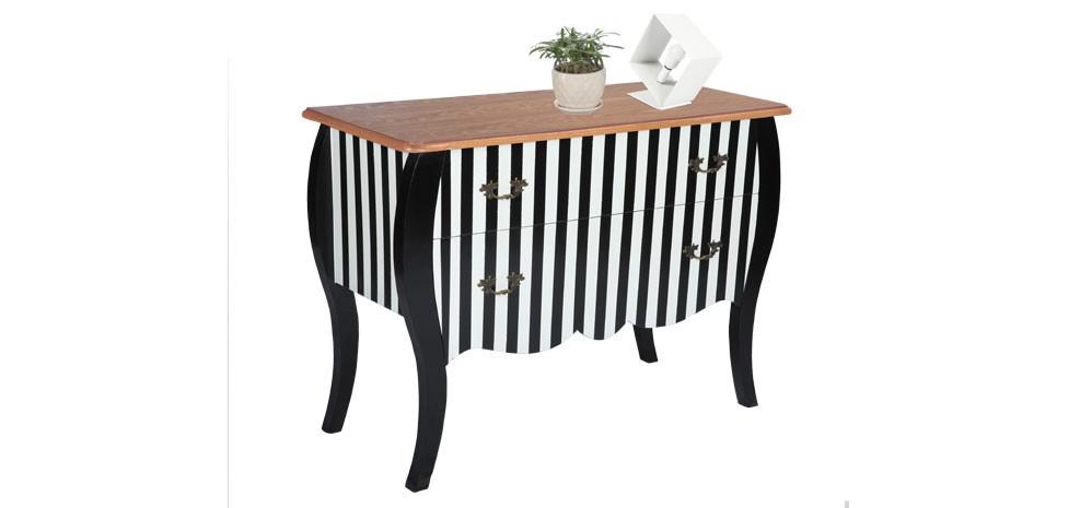 commode noire et blanche admirez nos commodes noires et. Black Bedroom Furniture Sets. Home Design Ideas