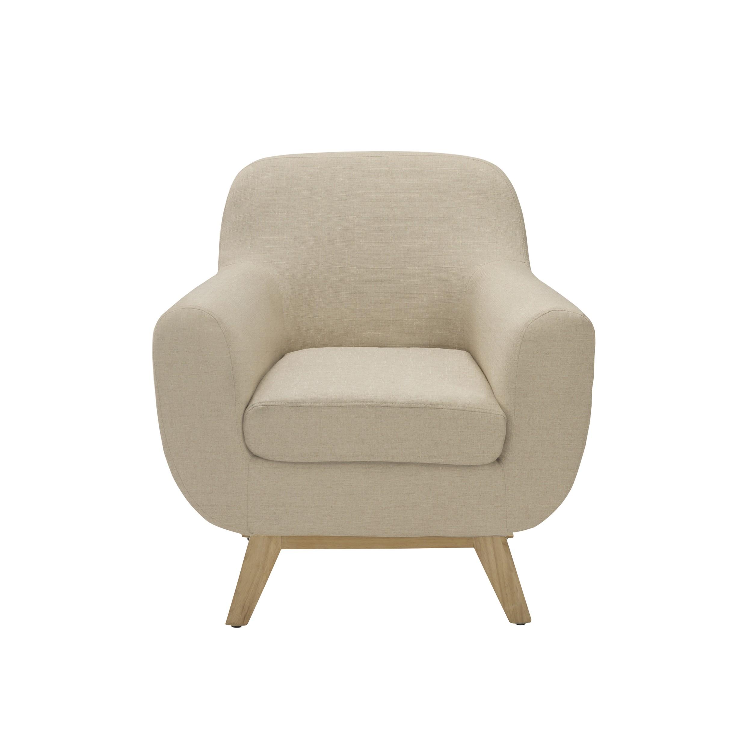 achat fauteuil tissu beige prix mini - Fauteuil En Tissu