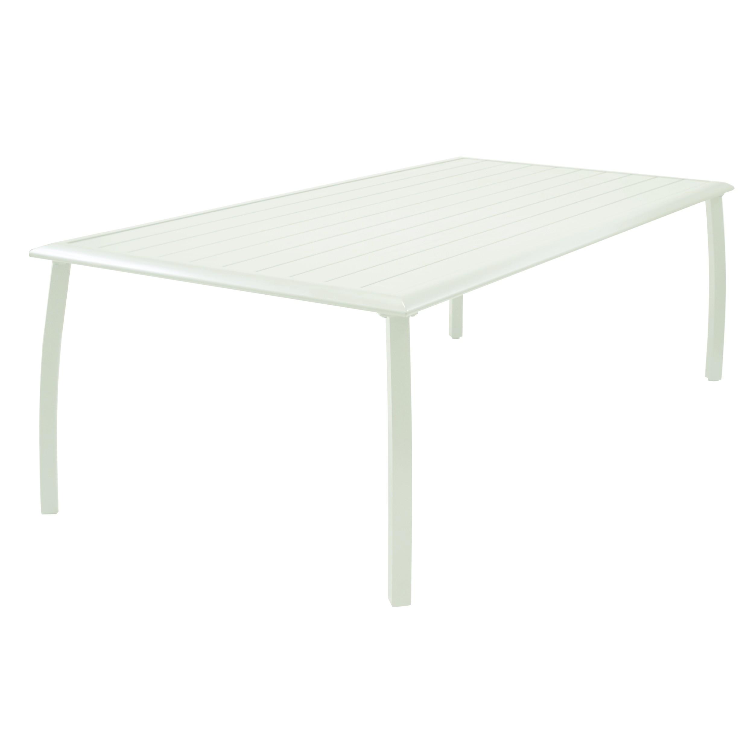 Table de jardin 180 cm livourne blanche choisissez nos Table de jardin chez amazon
