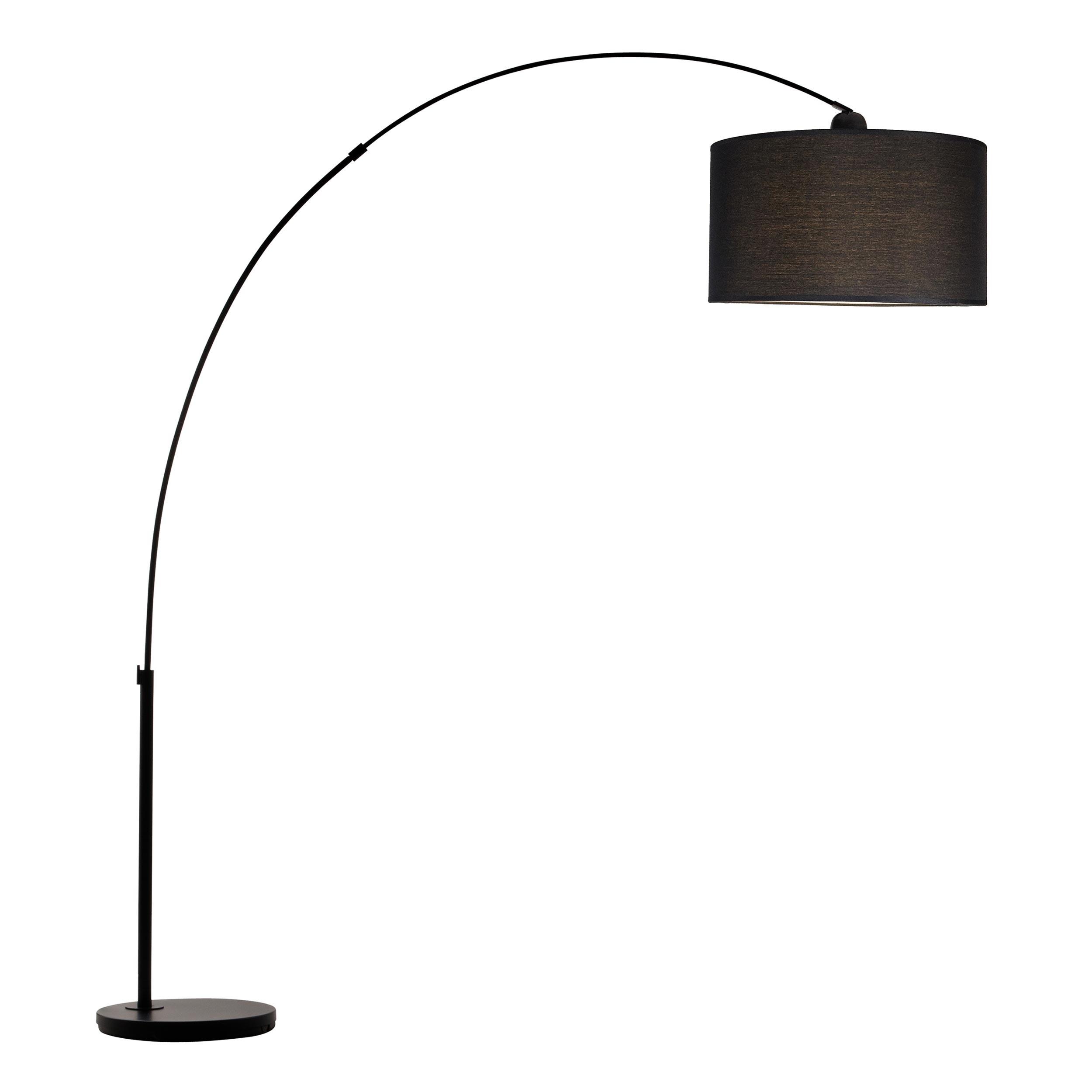 lampadaire arc attis noir d couvrez les lampadaires arc attis noirs rdv d co. Black Bedroom Furniture Sets. Home Design Ideas