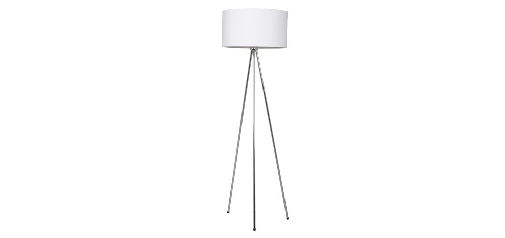 lampadaire tripod blanc adoptez nos lampadaires tripod blancs design rdv d co. Black Bedroom Furniture Sets. Home Design Ideas
