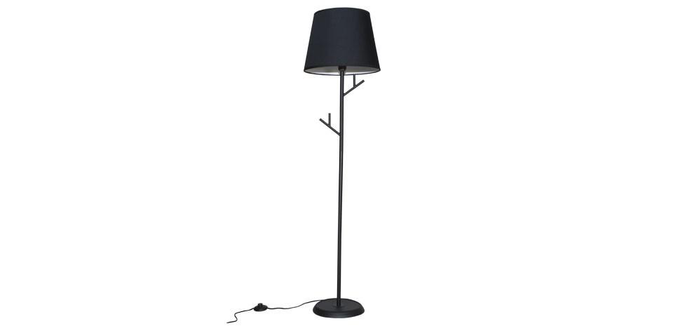 lampadaire noir optez pour nos lampadaires noirs et. Black Bedroom Furniture Sets. Home Design Ideas