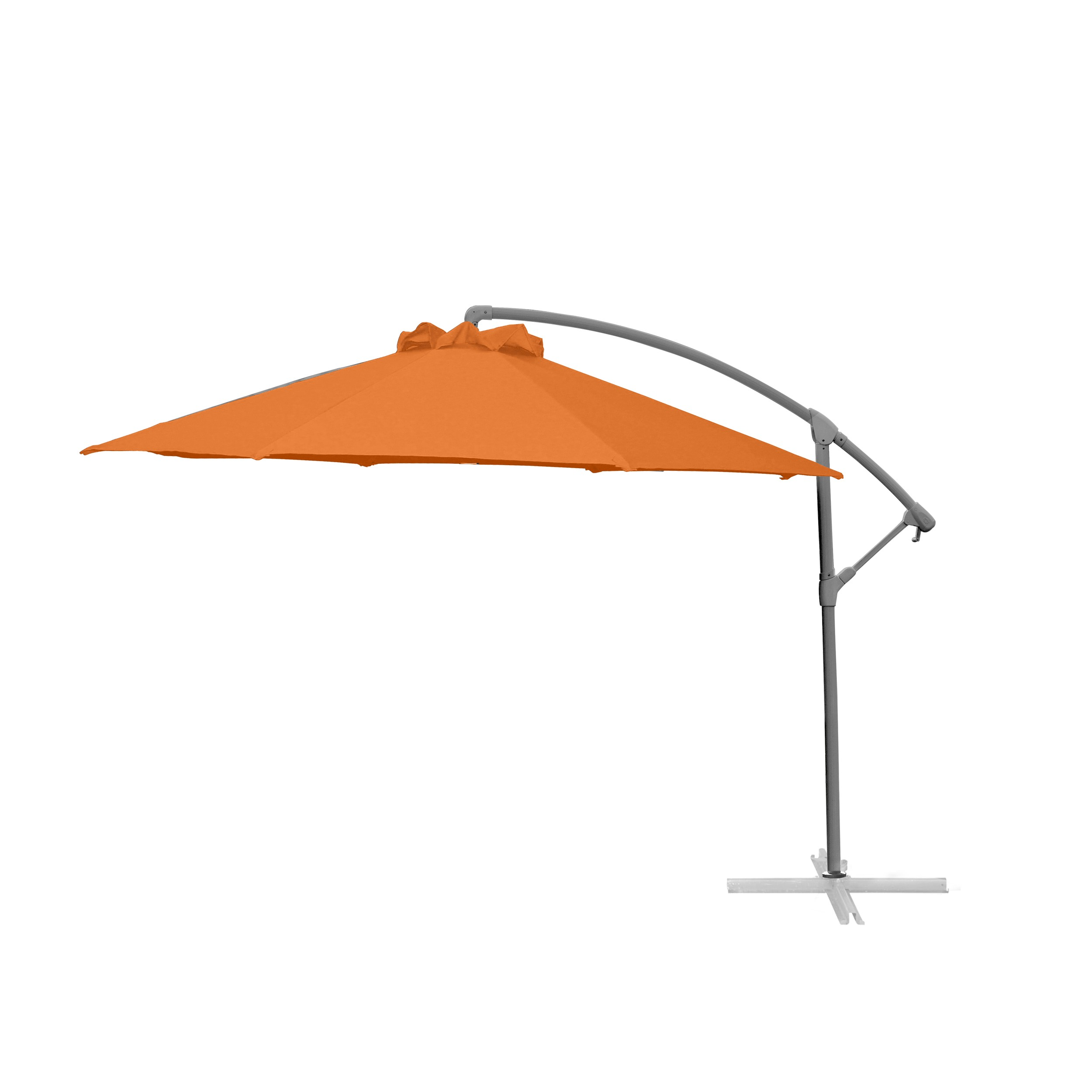 parasol d port chico orange craquez pour nos parasols d port s chico orange rdv d co. Black Bedroom Furniture Sets. Home Design Ideas