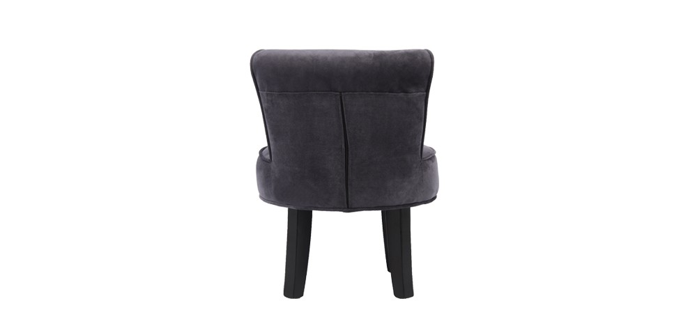 petit fauteuil crapaud gris commandez nos petits. Black Bedroom Furniture Sets. Home Design Ideas