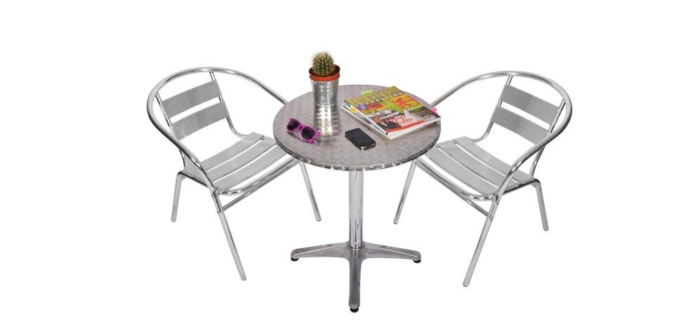 Table et chaises bistrot acheteez nos tables et chaises style bistrot rdvd co - Salon de jardin style bistrot ...