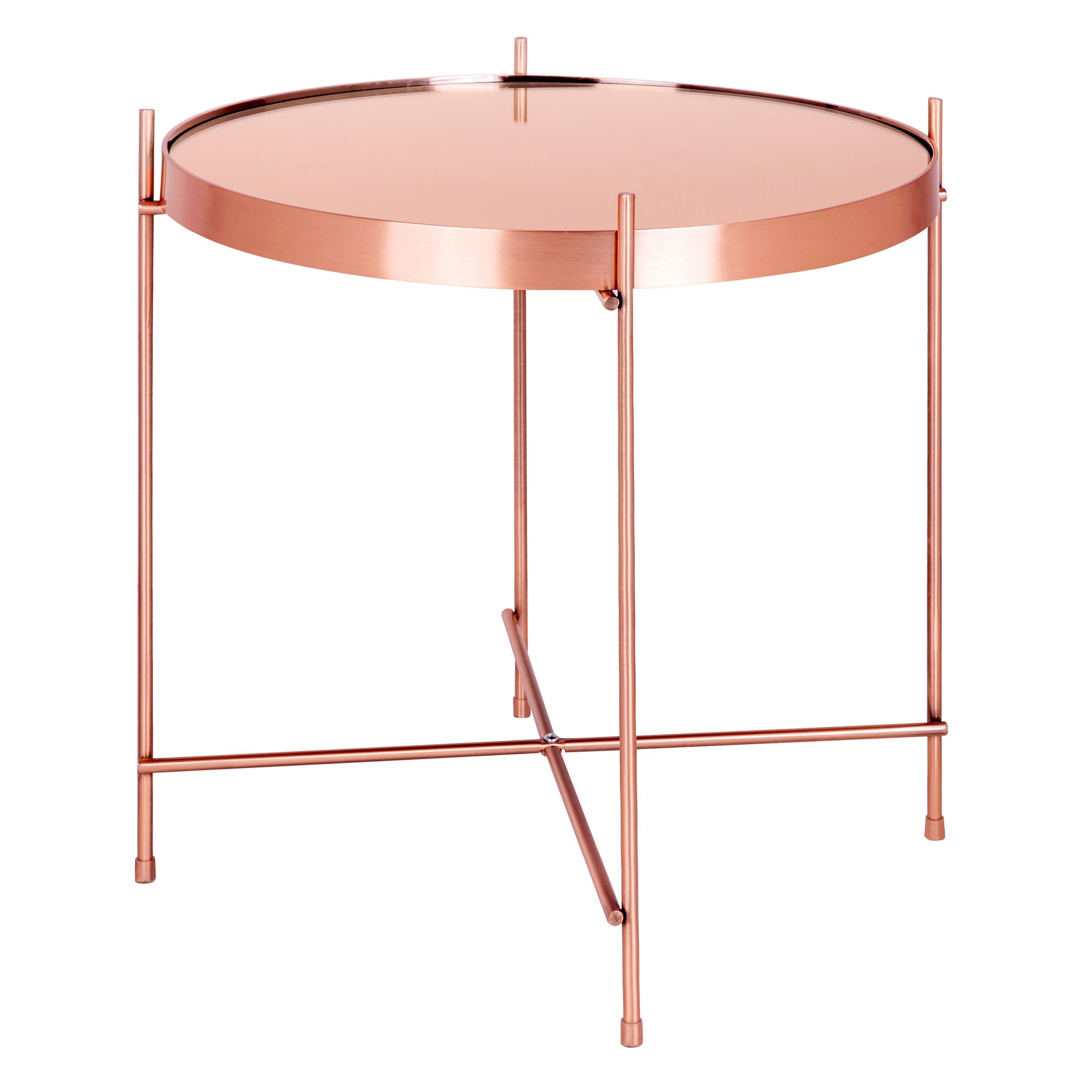 table basse ronde valdo cuivre s optez pour nos tables basses rondes valdo cuivre s rdv d co. Black Bedroom Furniture Sets. Home Design Ideas