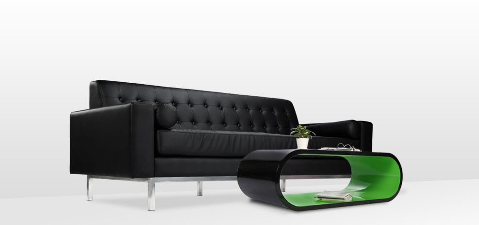 table basse tictac noir vert commandez nos tables basses bicolores design rdvd co. Black Bedroom Furniture Sets. Home Design Ideas