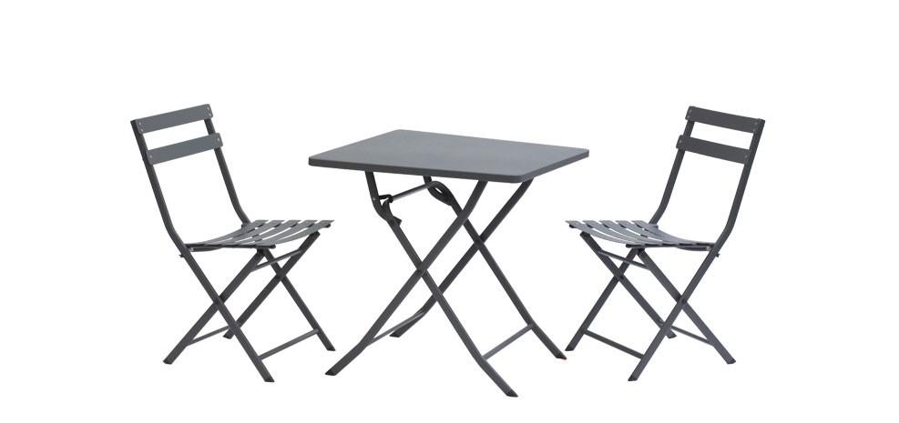 table grise en m tal achetez nos tables grises en m tal design rdvd co. Black Bedroom Furniture Sets. Home Design Ideas
