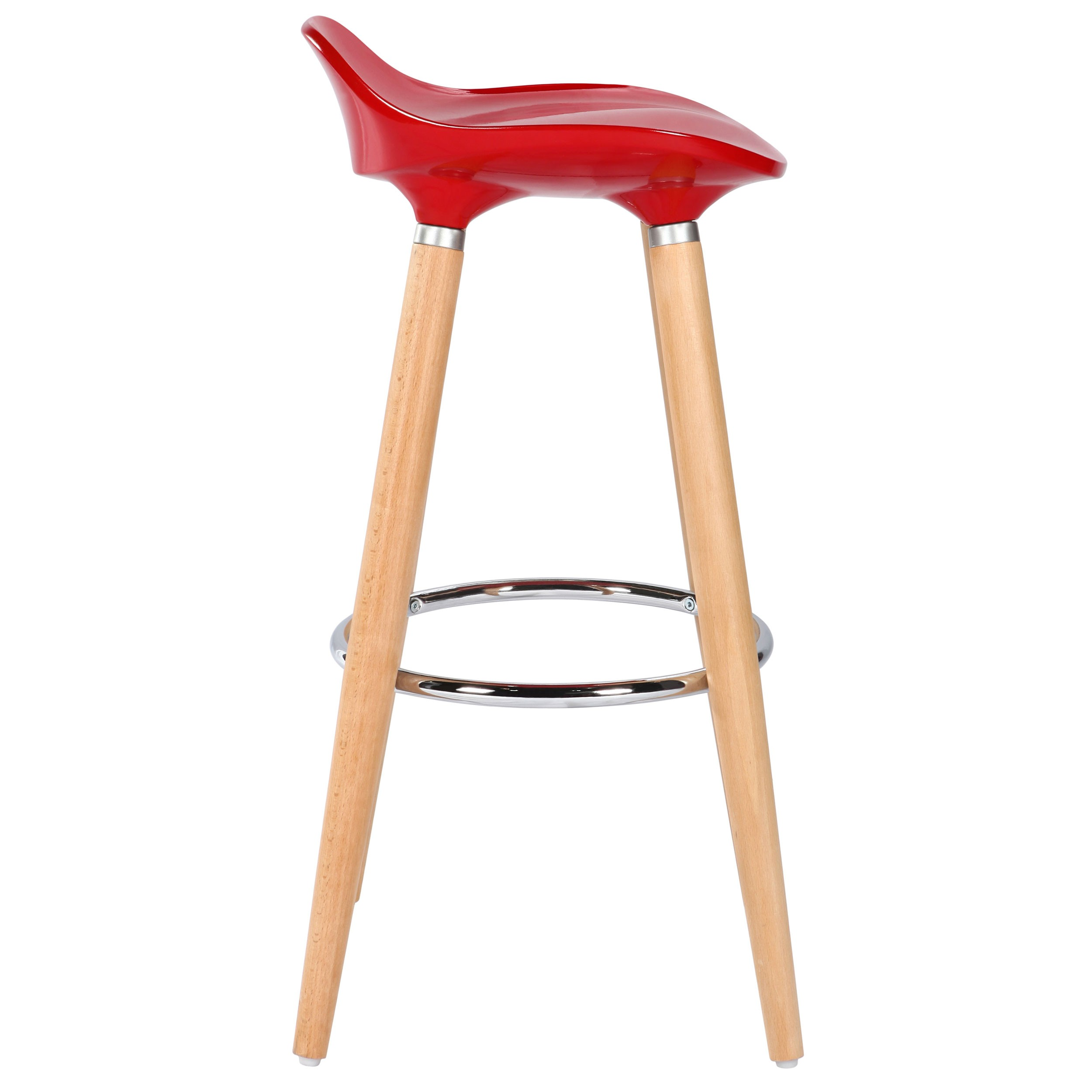 tabouret de bar italien rouge achetez nos tabourets de bar italiens rouges rdv d co. Black Bedroom Furniture Sets. Home Design Ideas