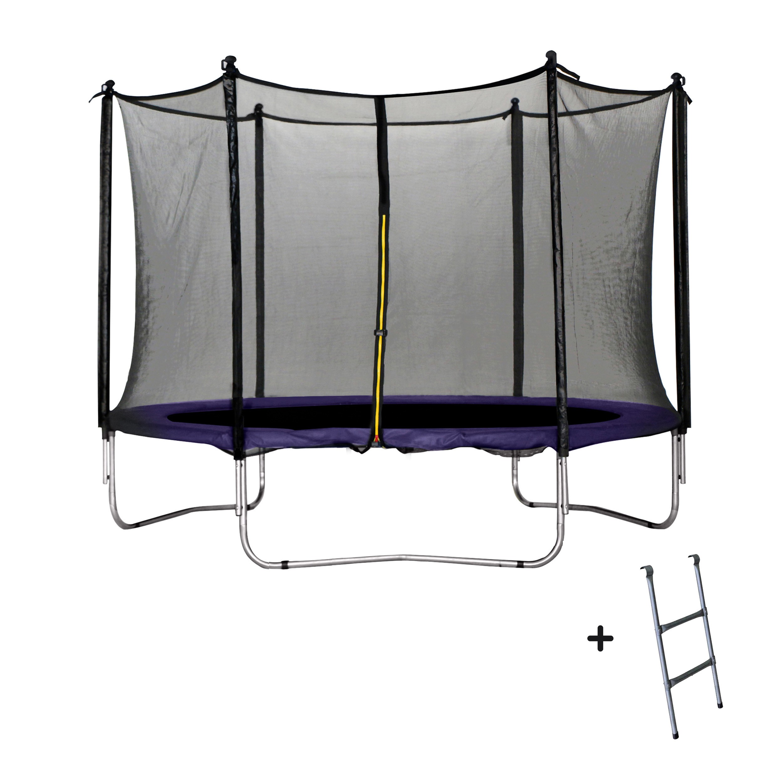 trampoline violet 305 cm jetez vous sur nos trampolines violets 305 cm rdv d co. Black Bedroom Furniture Sets. Home Design Ideas