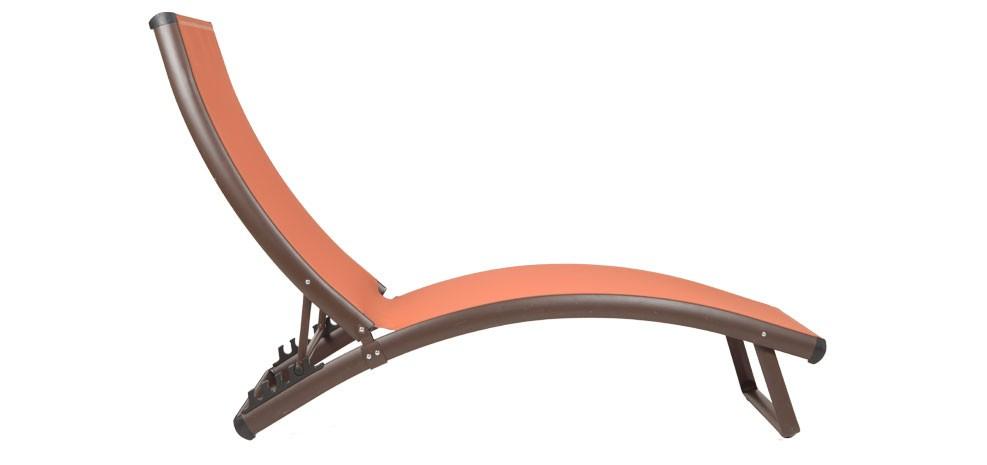 transat en textil ne orange achetez nos transats. Black Bedroom Furniture Sets. Home Design Ideas