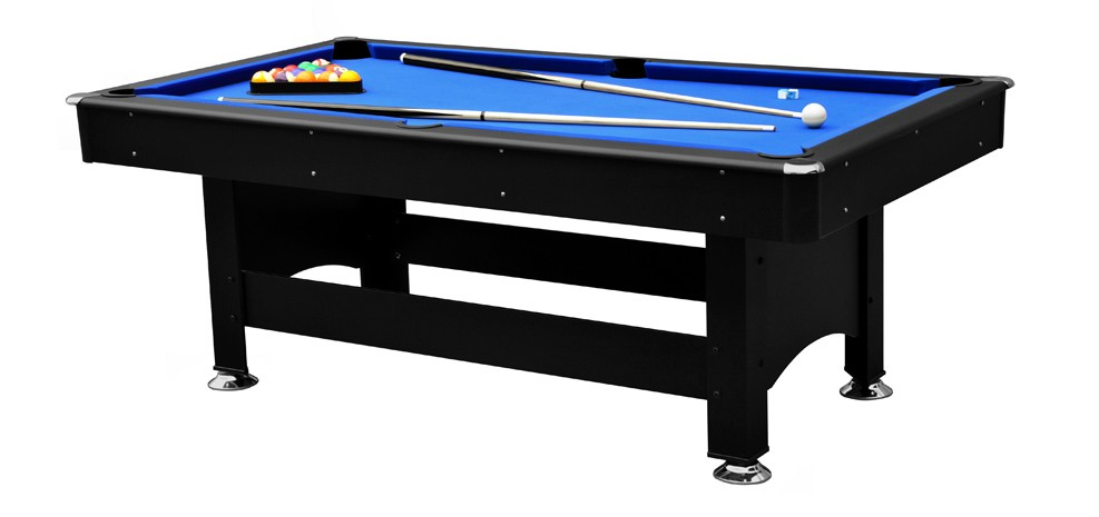billard newcastle 6 8ft noir commandez nos billards. Black Bedroom Furniture Sets. Home Design Ideas