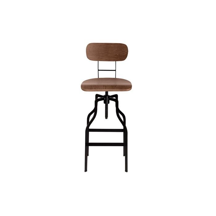 Chaise de bar Retro bois : commandez nos chaises de bar Retro bois ...