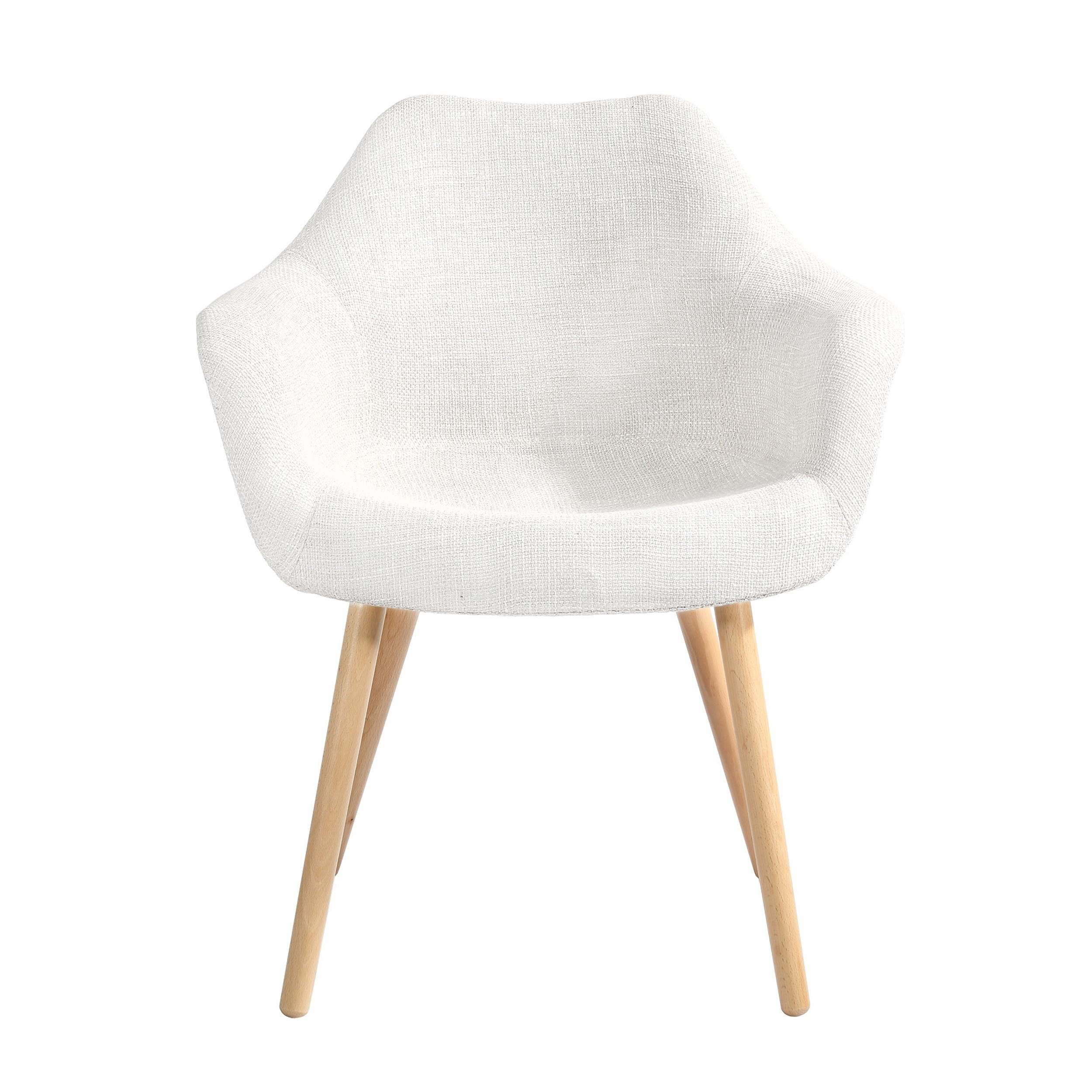 Chaise anssen blanche d couvrez nos chaises anssen for Chaises scandinaves blanches