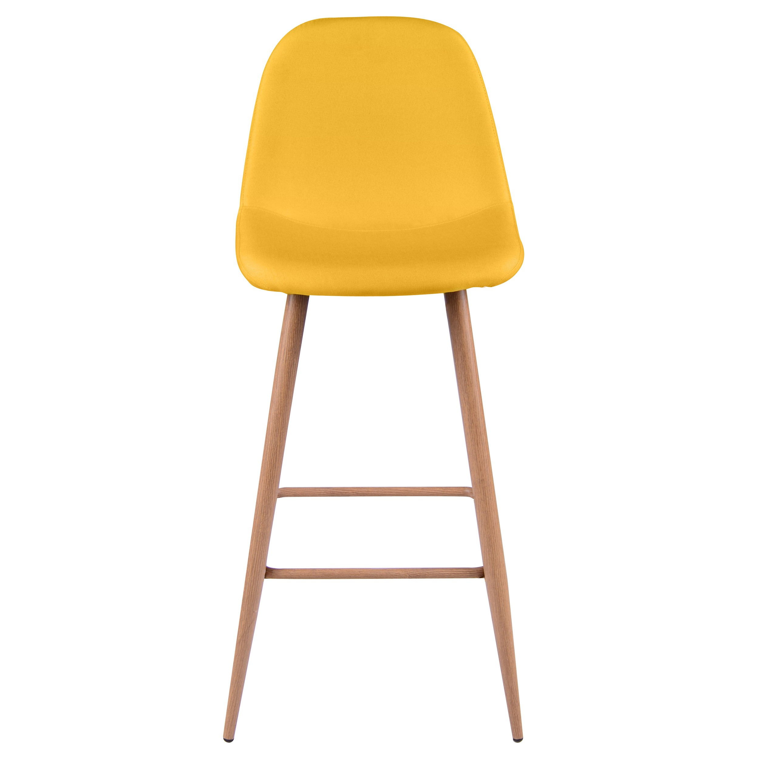Tabouret de bar fredrik jaune lot de 2 commandez nos for Acheter chaise design