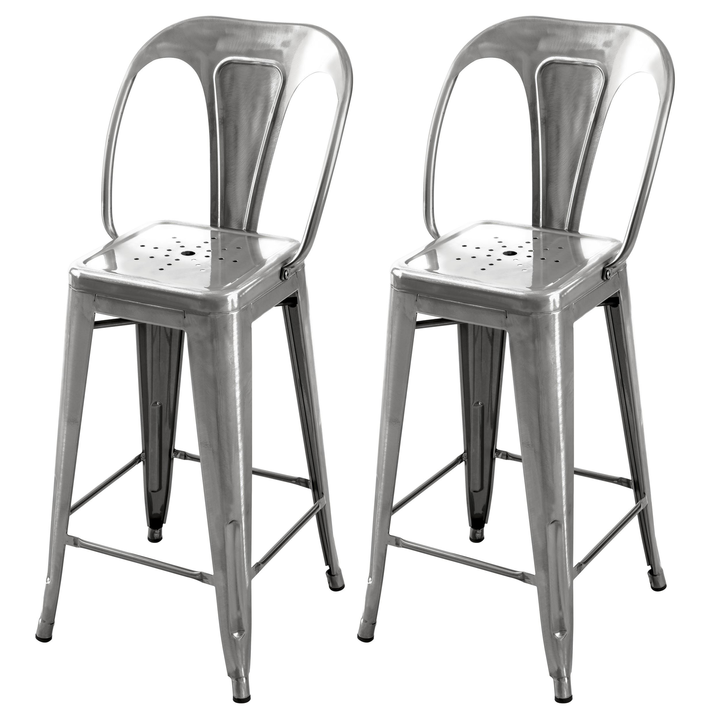 acheter chaise de bar industrielle