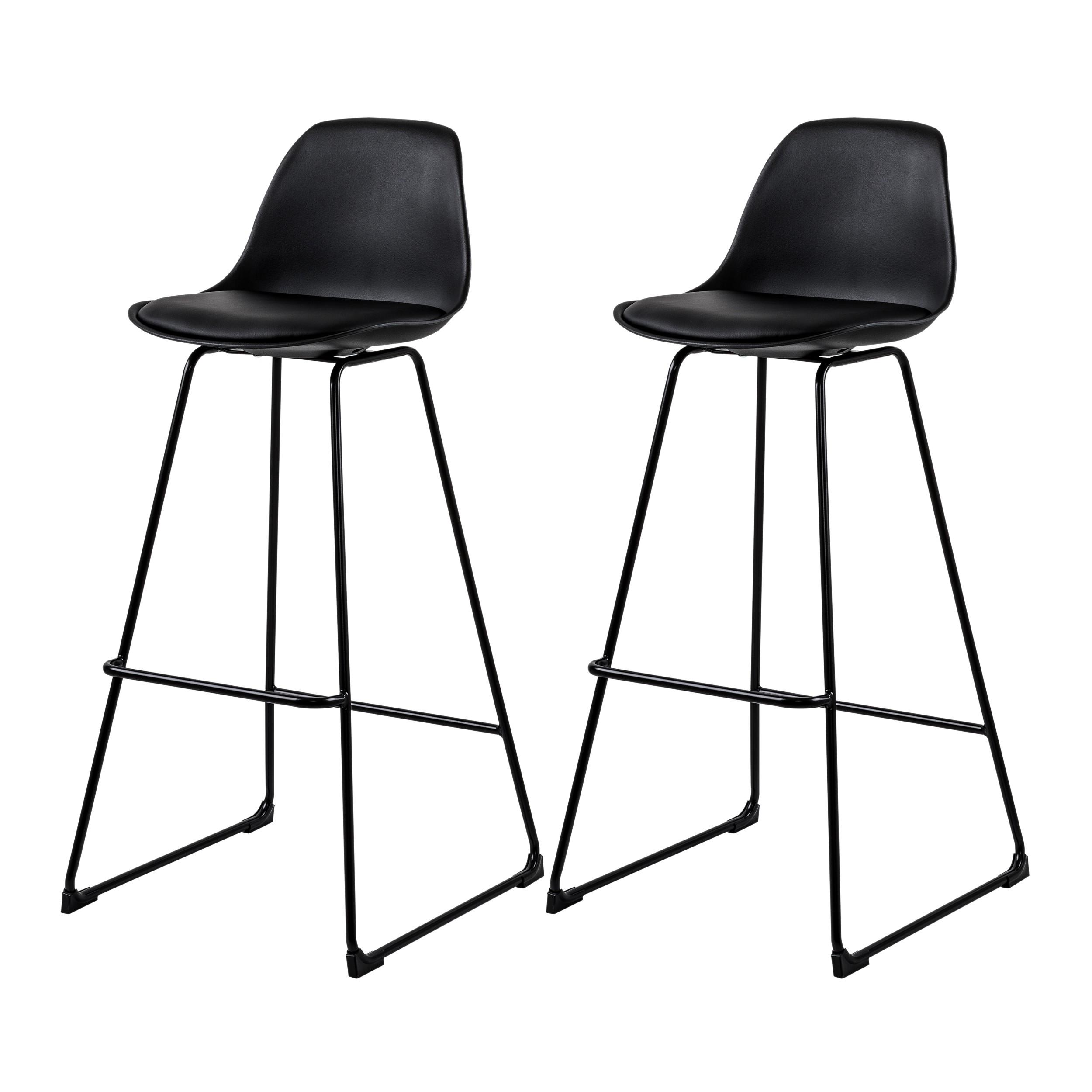 acheter chaise de bar noire design - Chaise Noire Design