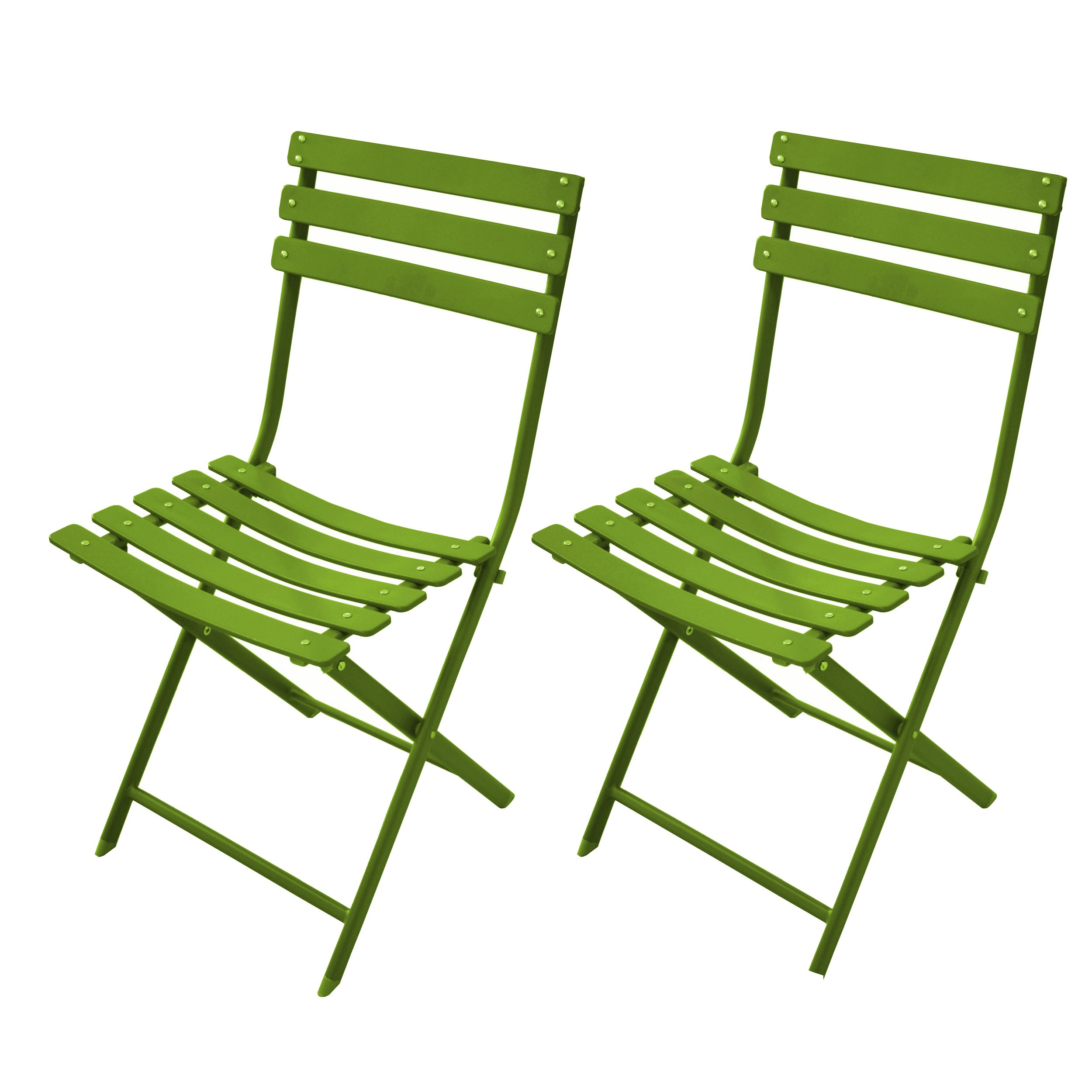acheter chaise de jardin verte
