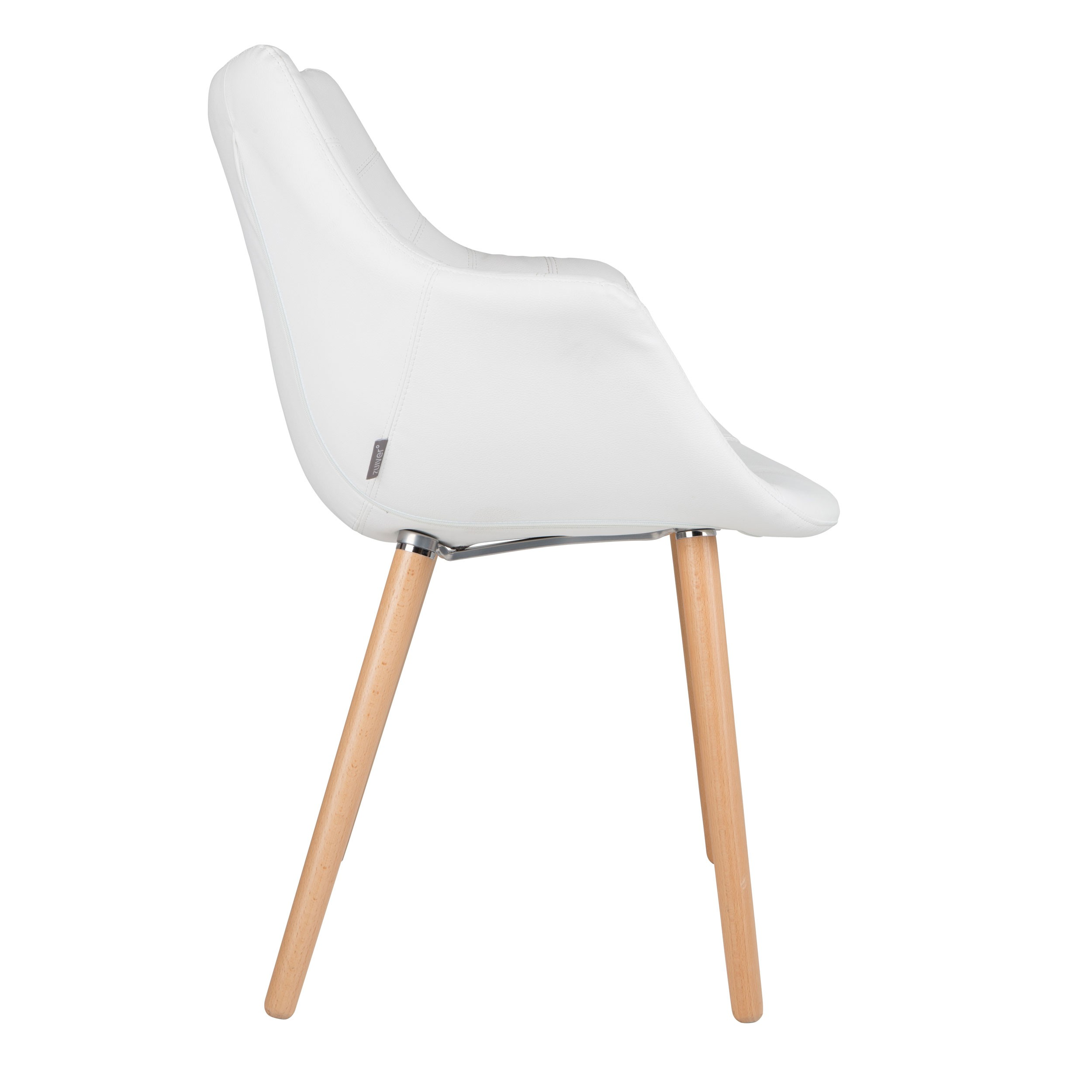 Chaise anders blanche zuiver d couvrez nos chaises for Chaise blanche salon