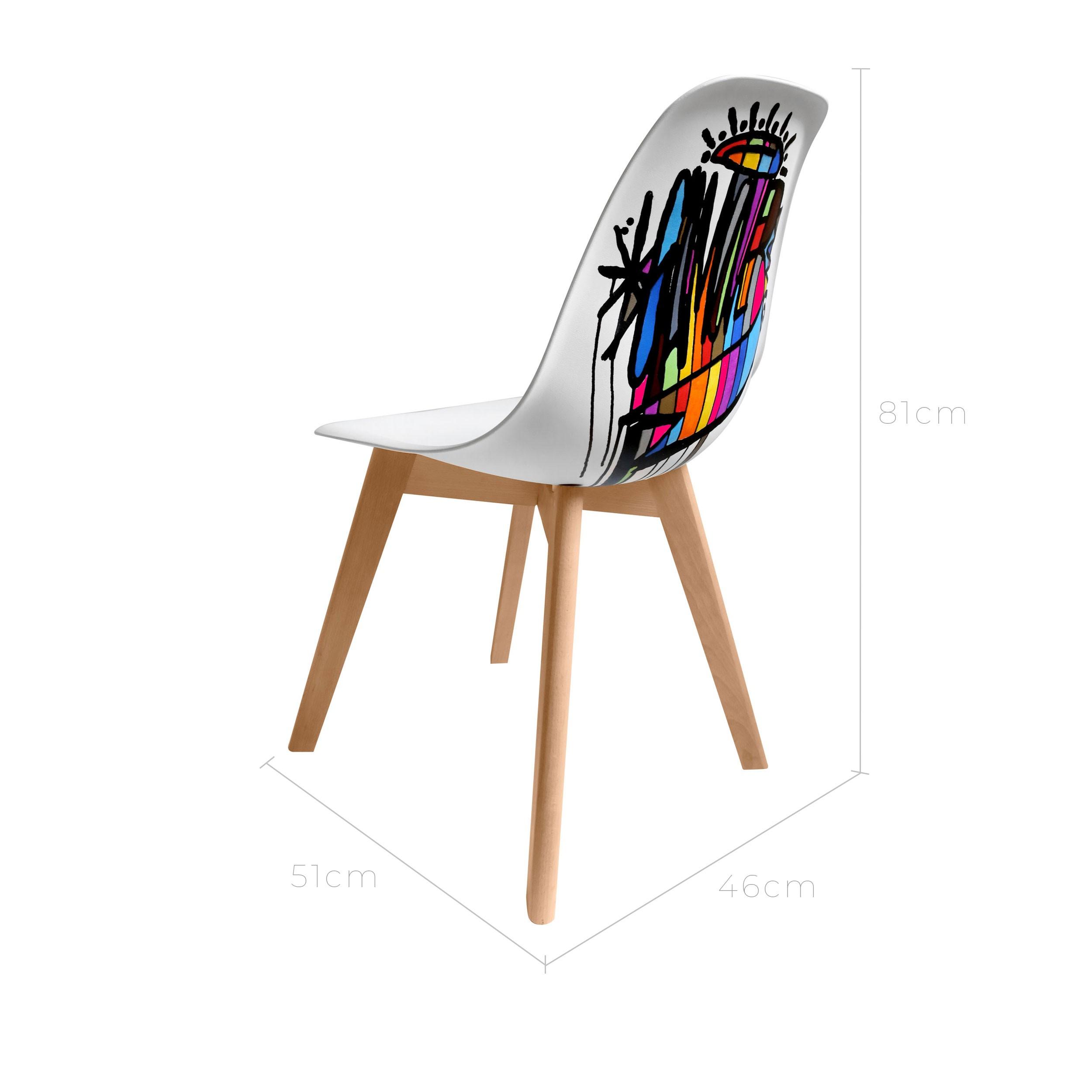 Chaise game over by dalas randalas achetez notre for Acheter chaise design