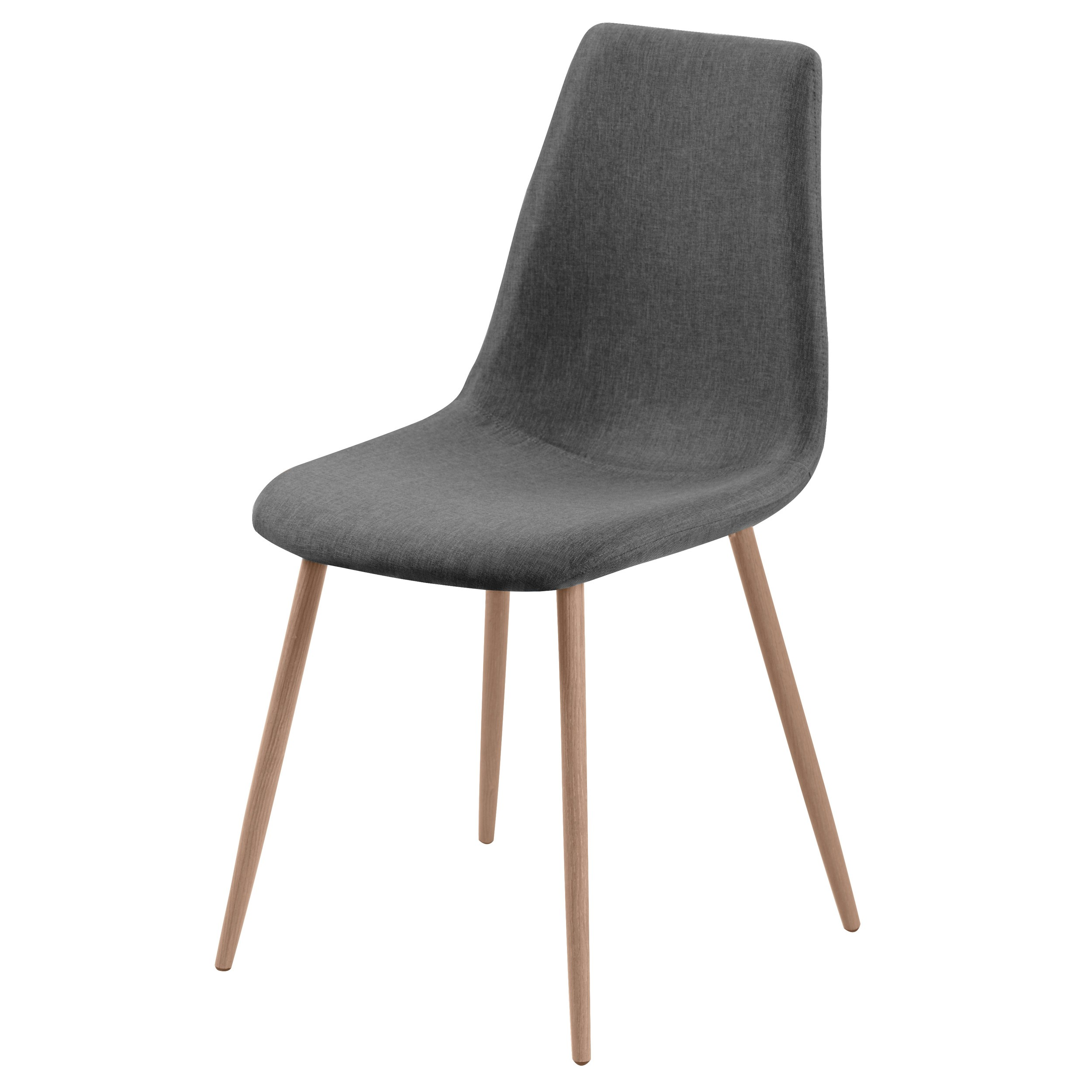 Chaise aleksi grise lot de 2 d couvrez nos chaises for Acheter chaise design