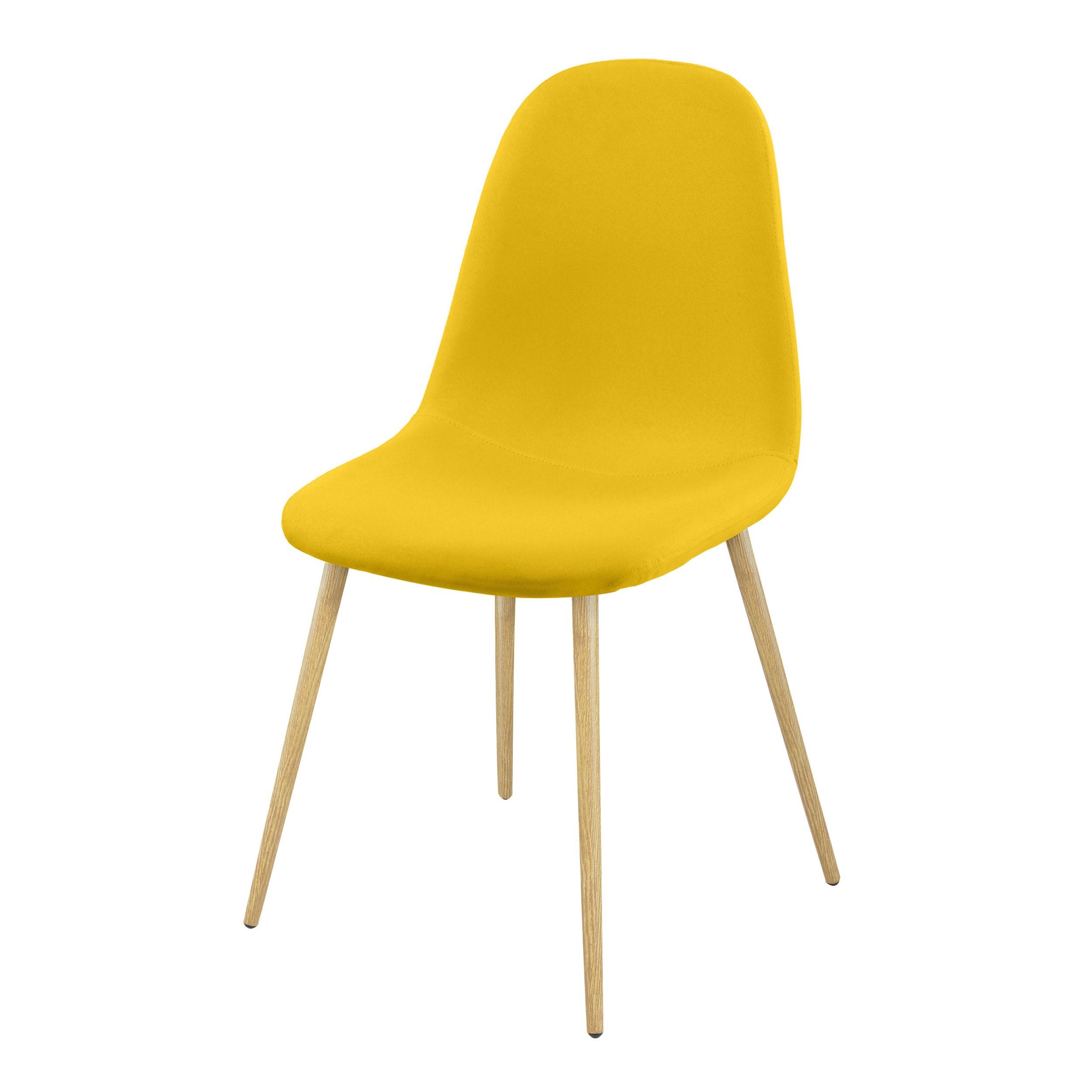 Chaise fredrik jaune testez nos chaises fredrik jaune for Acheter chaise design