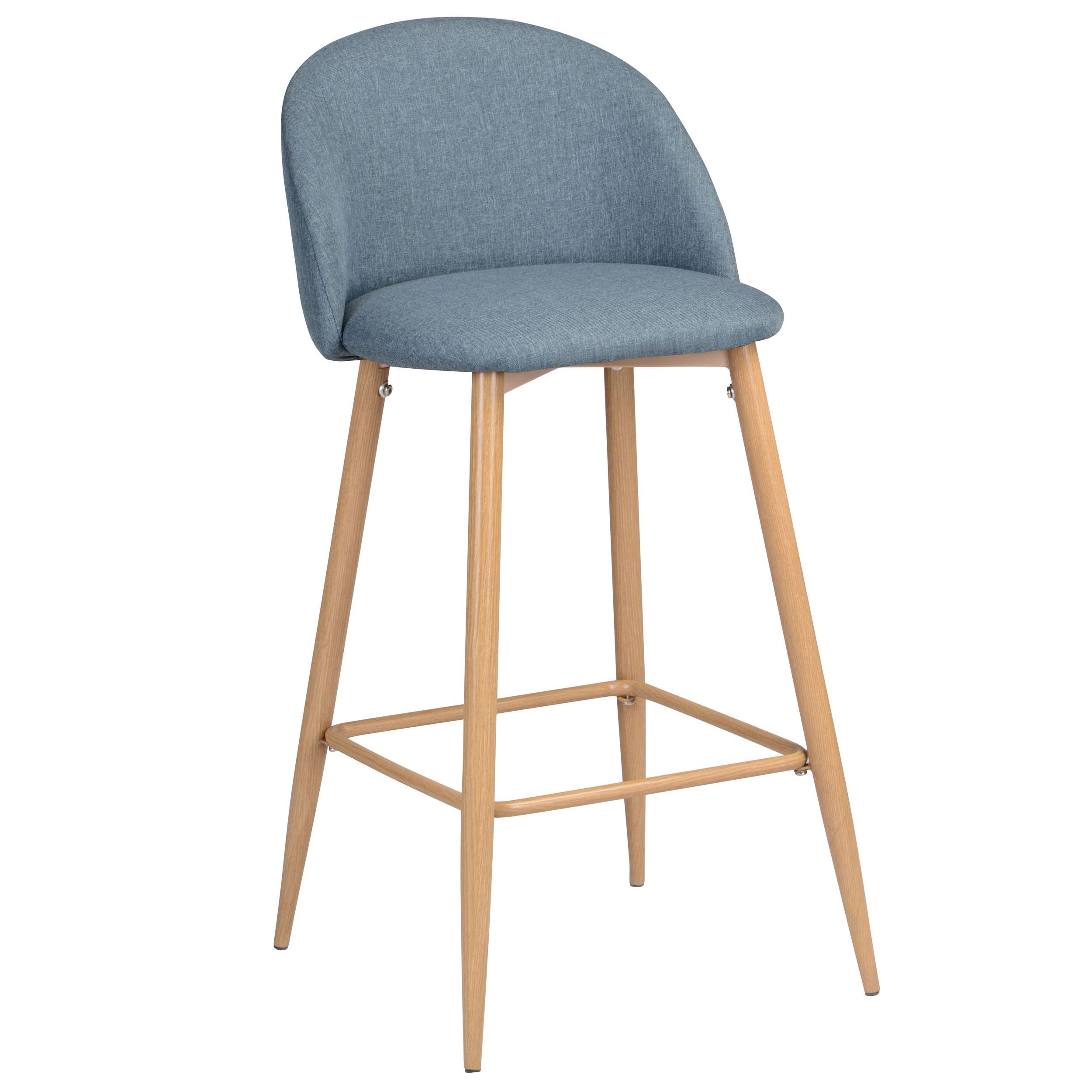 Chaise de bar cozy bleue lot de 2 retrouvez nos for Acheter une chaise