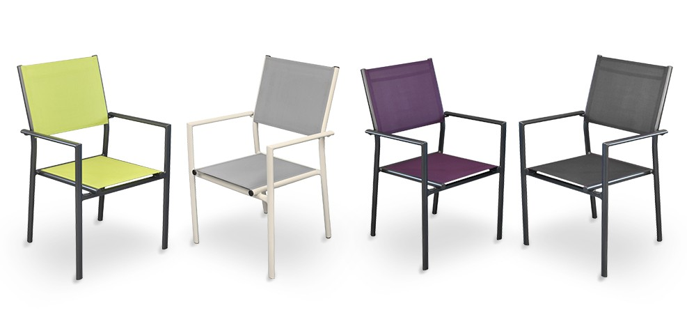 fauteuil de jardin terra gris clair lot de 6 achetez nos fauteuils de jardin terra gris. Black Bedroom Furniture Sets. Home Design Ideas