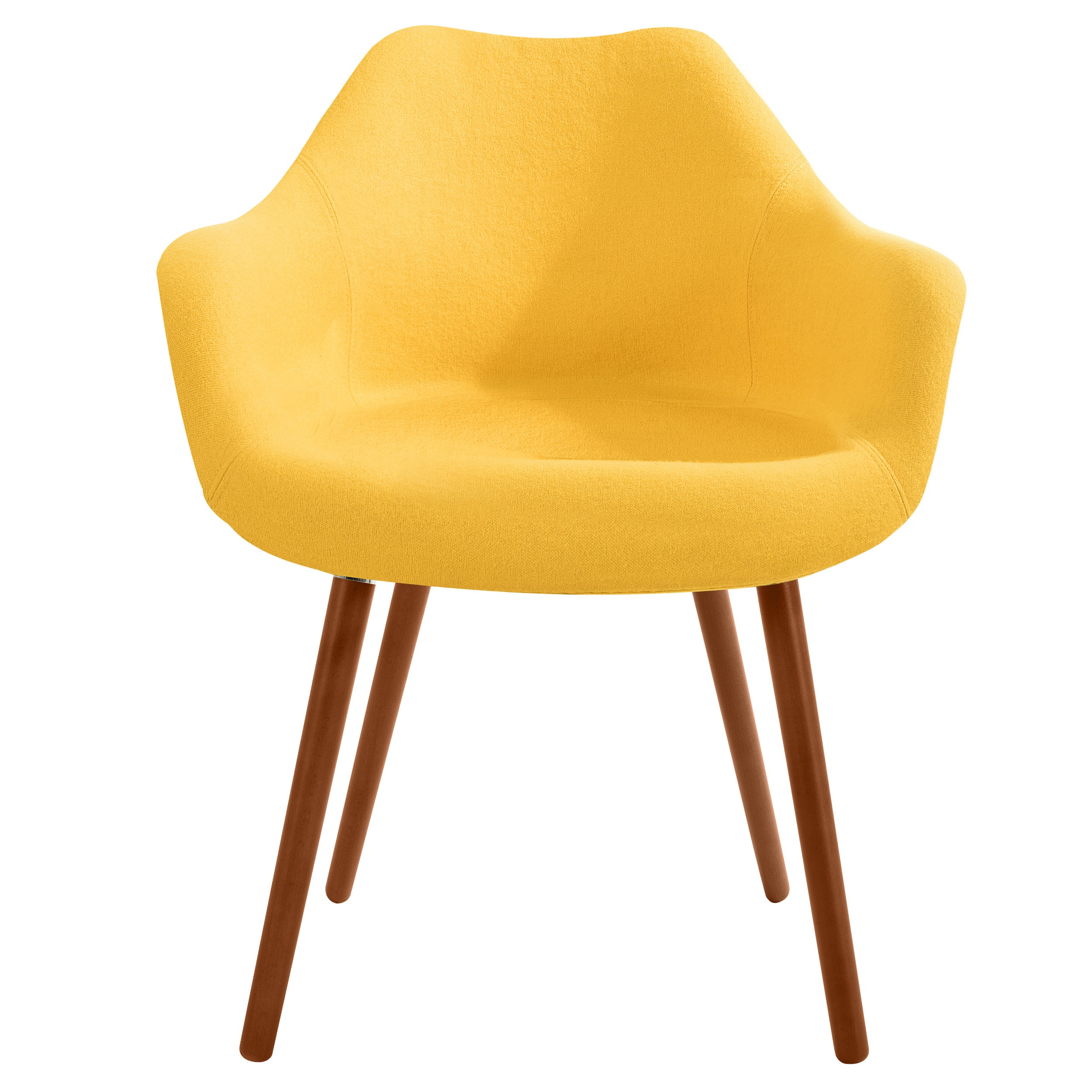 Chaise anssen jaune achetez nos chaises anssen jaunes for Chaise jaune design