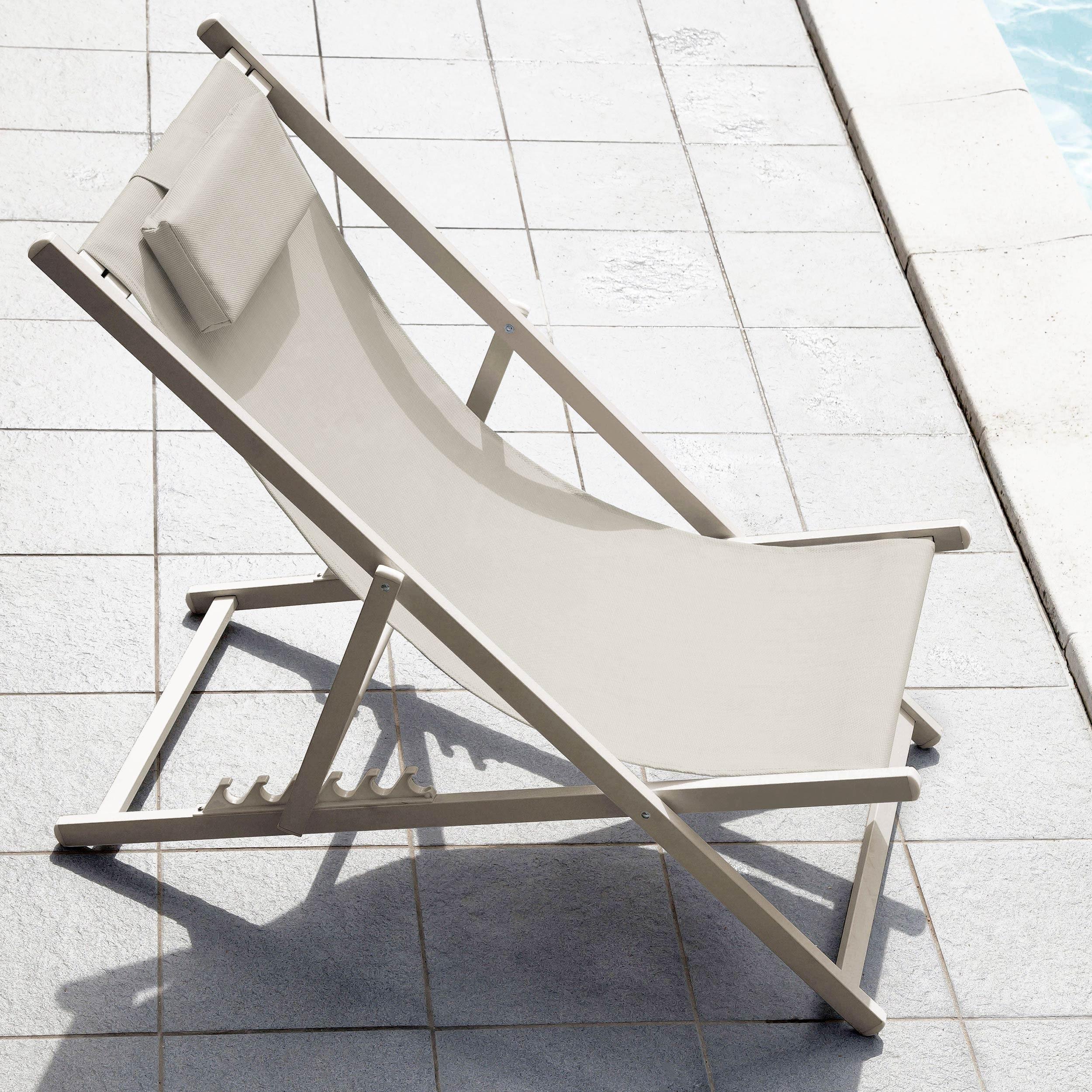chaise longue calvi taupe lot de 2 commandez nos chaises longues calvi taupe lot de 2 rdv d co. Black Bedroom Furniture Sets. Home Design Ideas